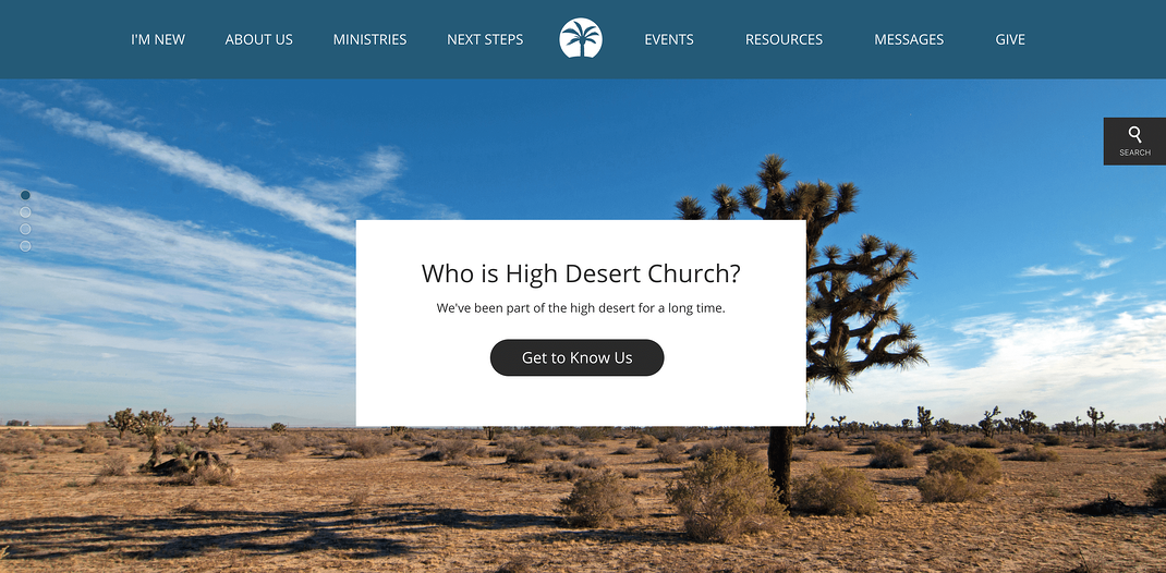 High Desert Church Screenshot