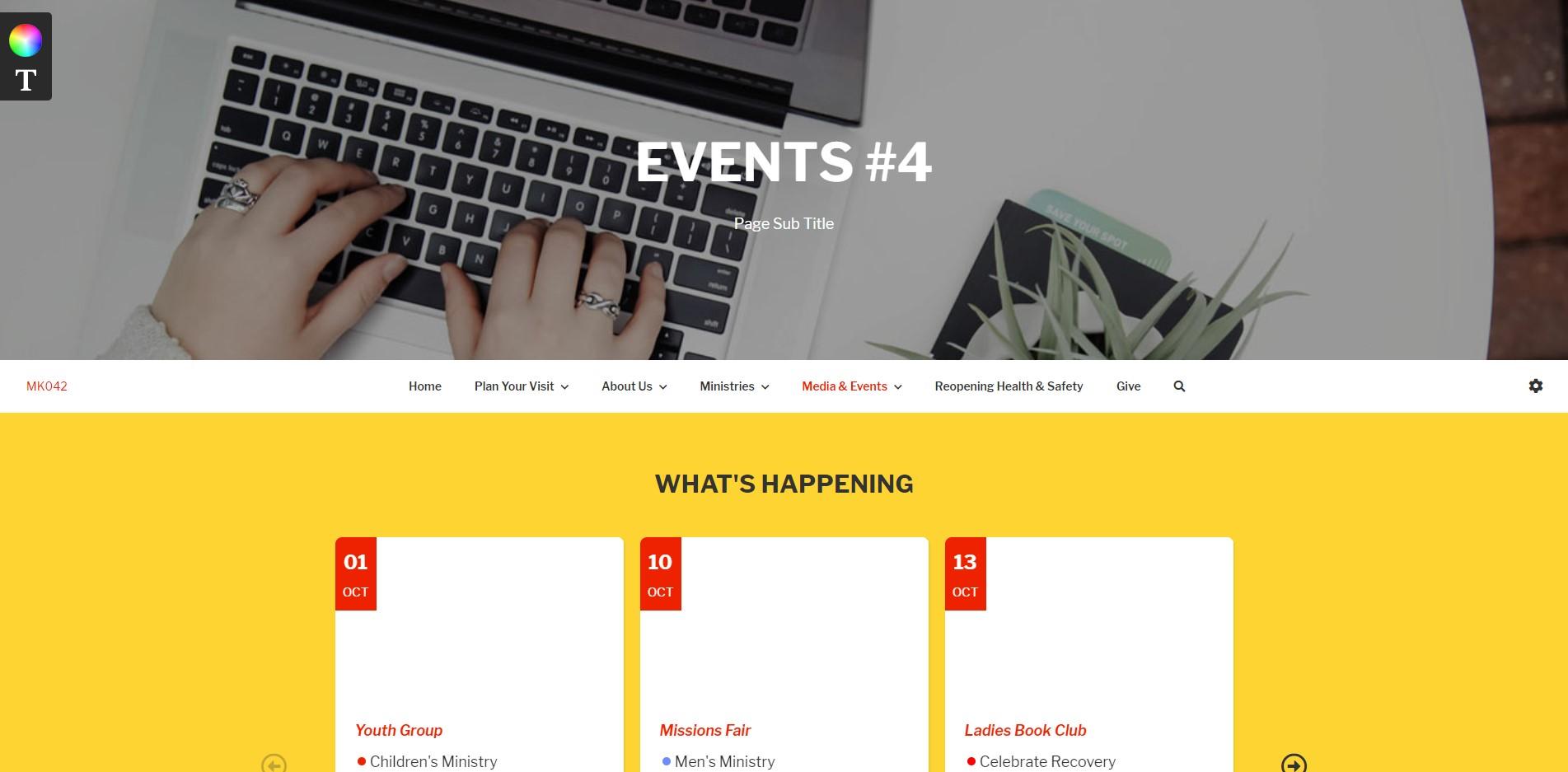 e360 palmer events
